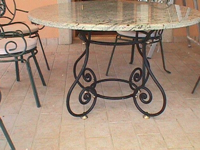 Talleres raluy mesas artesanales for Mesas para jardin